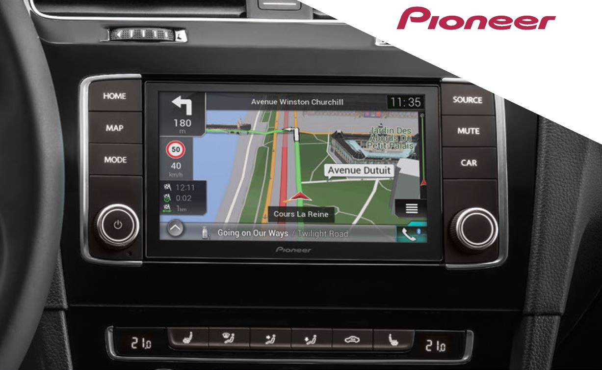 pioneer navgate evo vw golf 7 navigation. Black Bedroom Furniture Sets. Home Design Ideas