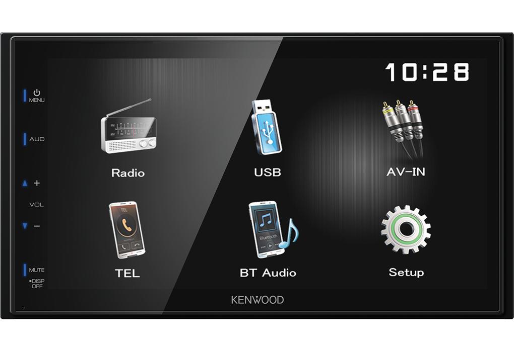 KENWOOD DMX110BT Mediaceiver 2-Din mit Bluetooth