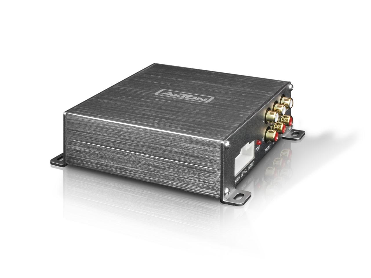 AXTON A500DSP - 5-Kanal DSP-Vorverstärker iOS und Android