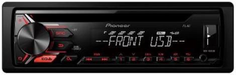 PIONEER DEH-1900UB USB-Tuner weiss-rot