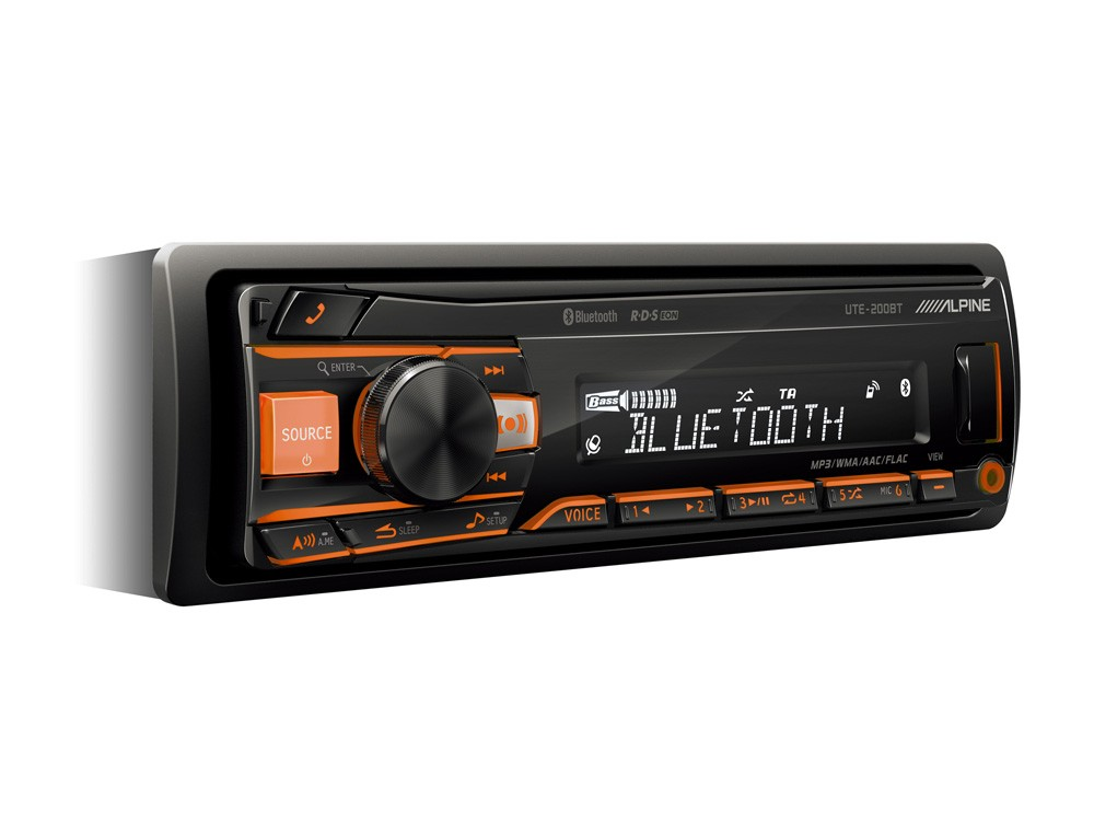 Alpine UTE-200BT DIGITAL MEDIA RECEIVER MIT BLUETOOTH®