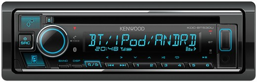 KENWOOD KDC-BT530U Bluetooth MP3-Radio mit USB