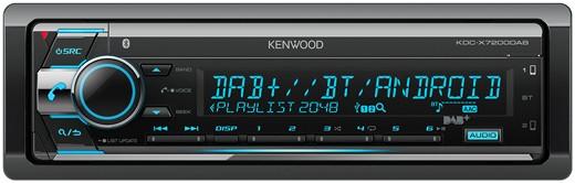 KENWOOD KDC-X7200DAB DAB-Radio mit USB und BT