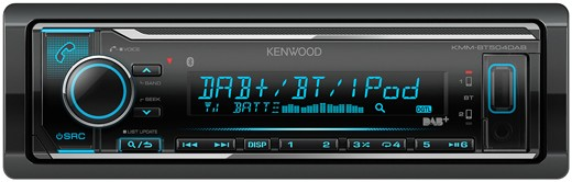 KENWOOD KMM-BT504DAB Receiver mit DAB + Bluetooth