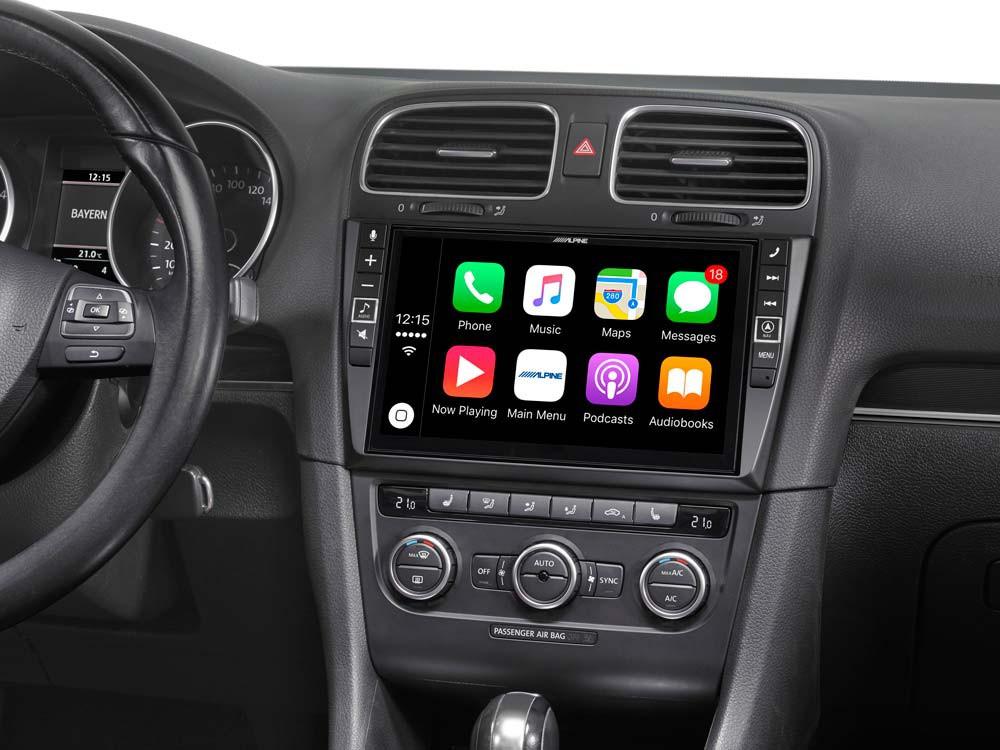 9-Zoll Premium-Mobile-Media-System für Volkswagen Golf 6 ...