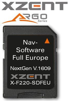 XZENT X-F220 microSD-card Europa
