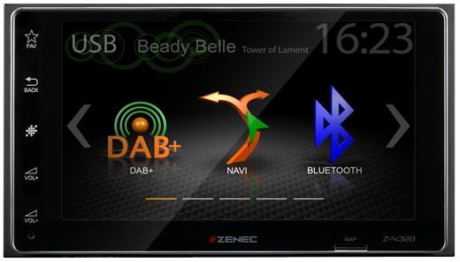 Z-N328 - ZENEC Z-N328 2-DIN Infotainer mit DAB+