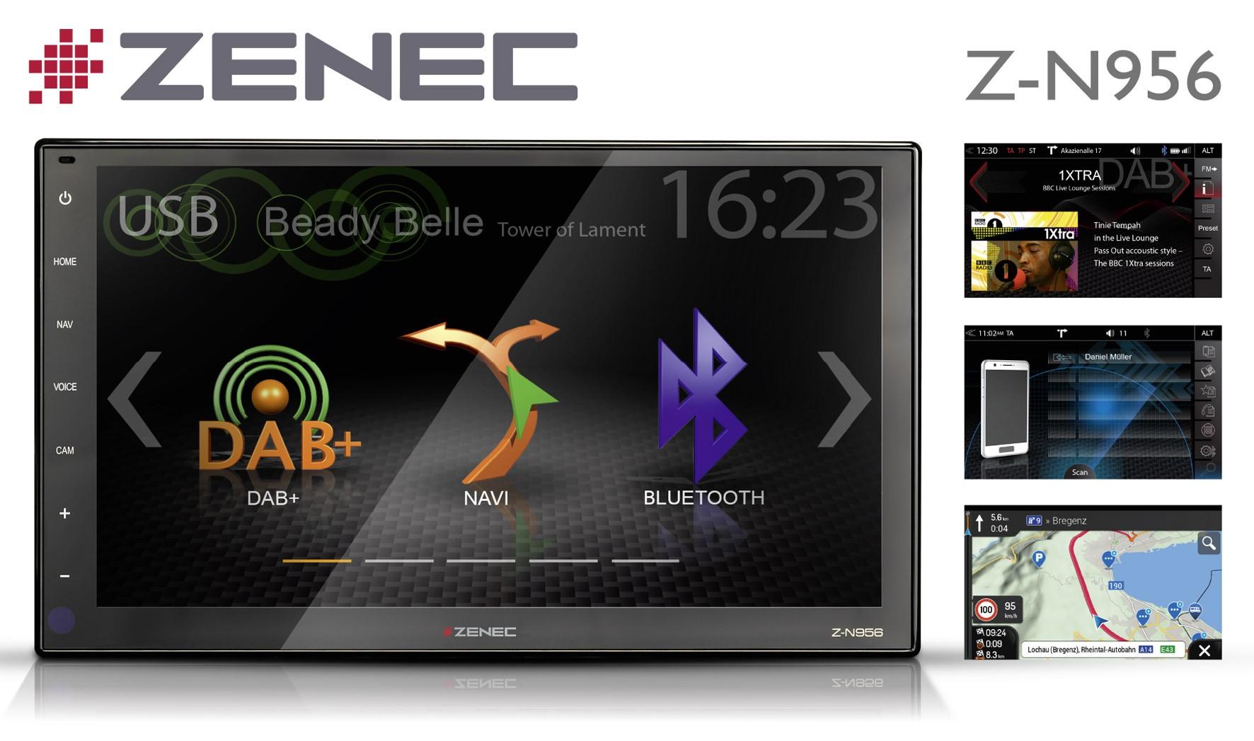 "ZENEC Z-N956 9""-Zoll inkl. Reisemobil-Caravan-Navigation"