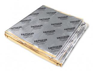 EMPHASER Dämmung Alubutyl Set 4 Stk. je 900 x 300 x 2,1mm