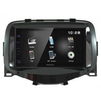 KENWOOD DMX110BT-AYGO Mediaceiver für Toyota Aygo 2014->