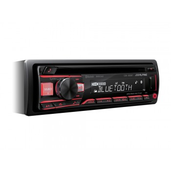 Alpine CDE-203BT CD/USB RECEIVER MIT BLUETOOTH
