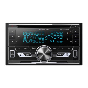 KENWOOD DPX-5100BT 2-DIN MP3-Tuner mit Bluetooth