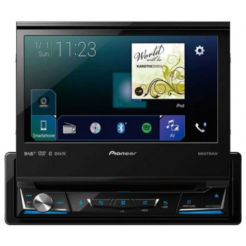 PIONEER AVH-Z7000DAB 1-DIN CarPlay Android Auto