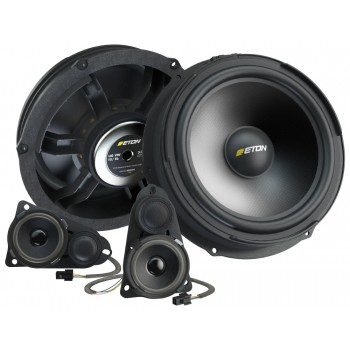 ETON Upgrade VW T5 3-Wege Plug & Play Lautsprechersystem