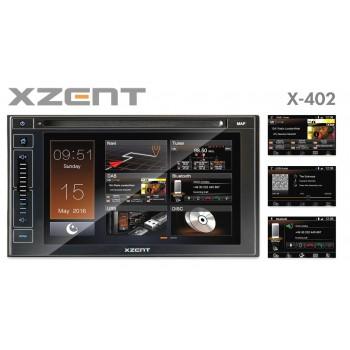 X-402 - XZENT 2-Din Naviceiver* mit DAB+, USB, BT und HDMI
