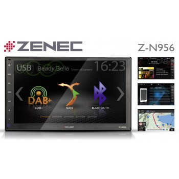 "ZENEC Z-N966 9""-Zoll inkl. Reisemobil-Caravan-Navigation"